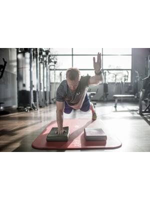 Airex Balance Pad mini im Training mit 2 Pads