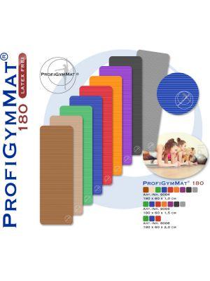 PROFIGYMMAT Gymnastikmatte Profigym 180 x 60 x 2,0 cm