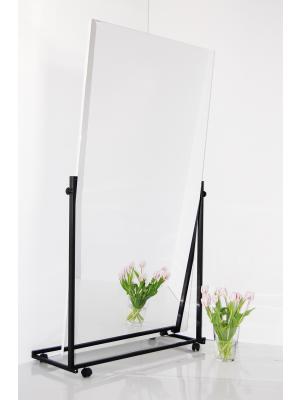 folienspiegel - therapiespiegel - fahrbar - stativ - schwenkbare - spiegefläche