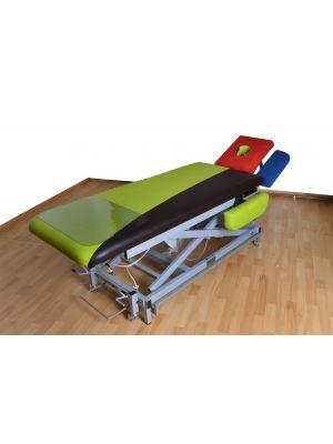 Frotteestretch Liegenbezug 4 teilig  für 65 cm / 80 cm Liegenbreite  mit  / ohne Nasenausschnitt