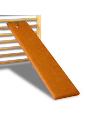 Schrägbrett für Sprossenwand mit Fußschlaufe