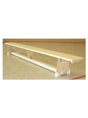 Turnbank nach DIN 7910 mit Einhängeleiste - für Sprossenwand oder Sprungkästen mit Ausschnitt