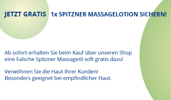 Massagelotion sichern